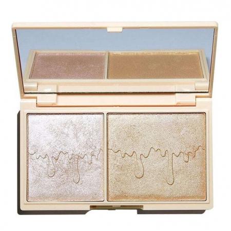 Makeup Revolution London I Heart Makeup Chocolate Duo Palette Brightener Rose Gold Glow 11,2gr