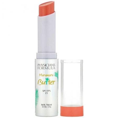 Physicians Formula Murumuru Butter Lip Cream SPF15 Lip Balm Brazilian Sunset 3,4gr