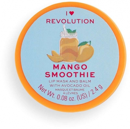 I Heart Revolution Lip Mask And Balm Lip Balm Mango Smoothie 2,4gr