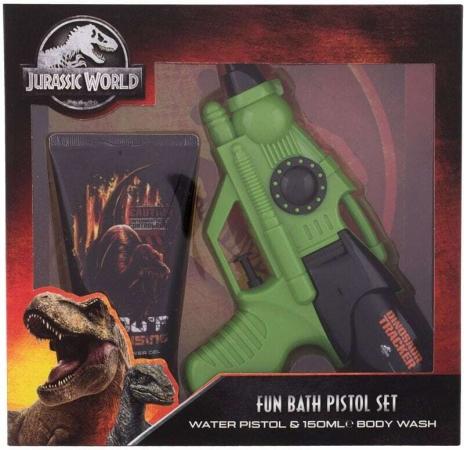 Universal Jurassic World Shower Gel 150ml Combo: Shower Gel Jurassic World 150 Ml + Water Gun