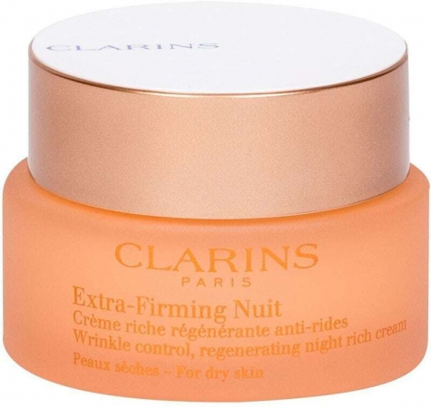 Clarins Extra-Firming Nuit Rich Night Skin Cream 50ml (Wrinkles)