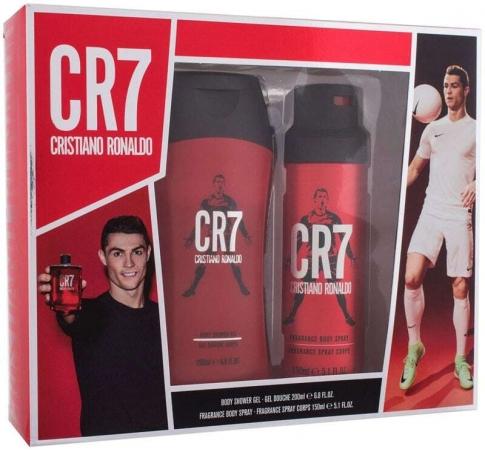 Cristiano Ronaldo CR7 Shower Gel 200ml Combo: Shower Gel 200 Ml + Deodorant 150 Ml