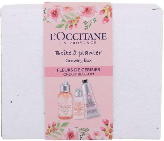 L´occitane Cherry Blossom Growing Box Shower Gel 75ml Combo: Cherry Blossom Bath & Shower Gel 75 Ml + Cherry Blossom Shimmering Lotion 35 Ml + Cherry Blossom Hand Cream 30 Ml