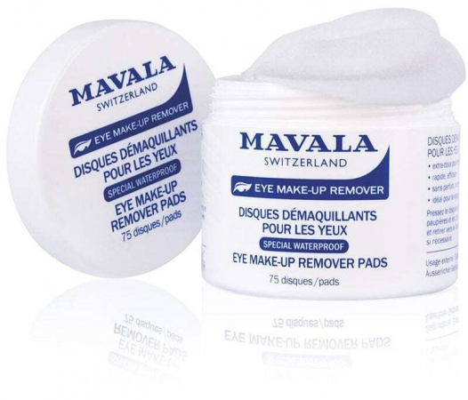 Mavala Eye Make-Up Remover Pads Eye Makeup Remover 75pc