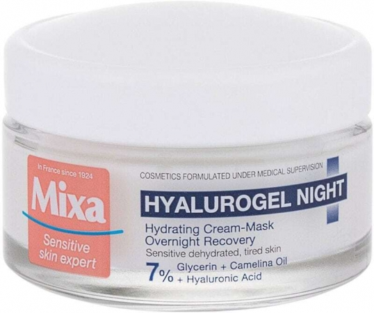 Mixa Hyalurogel Night Skin Cream 50ml (For All Ages)