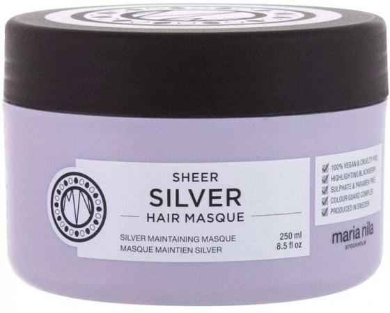Maria Nila Sheer Silver Hair Mask 250ml (Blonde Hair)
