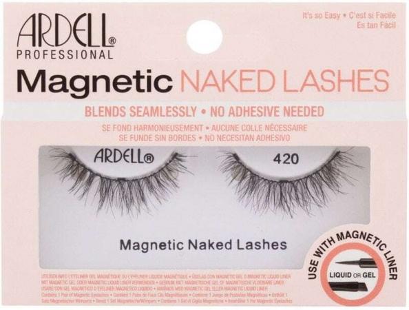 Ardell Magnetic Naked Lashes 420 False Eyelashes Black 1pc