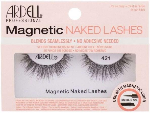 Ardell Magnetic Naked Lashes 421 False Eyelashes Black 1pc