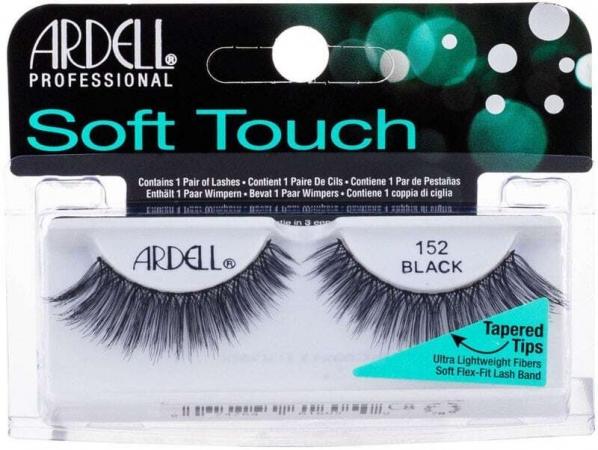Ardell Soft Touch 152 False Eyelashes Black 1pc