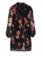 Φόρεμα Φλοράλ με Φουσκωτά Μανίκια