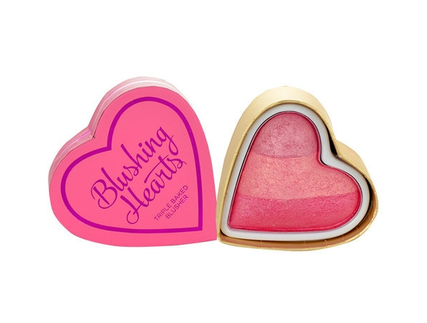 MAKEUP REVOLUTION Triple Baked Blusher Blushing Hearts Iced Hearts 10g