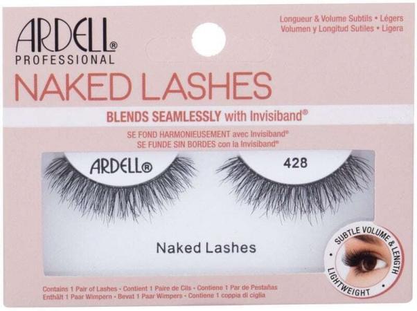 Ardell Naked Lashes 428 False Eyelashes Black 1pc