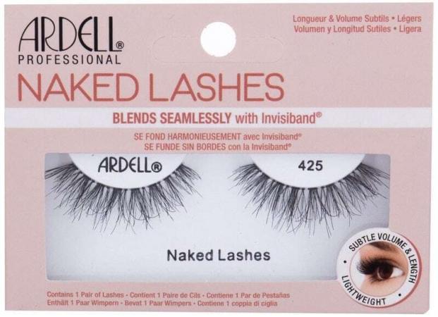 Ardell Naked Lashes 425 False Eyelashes Black 1pc