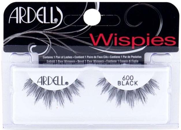 Ardell Wispies 600 False Eyelashes Black 1pc