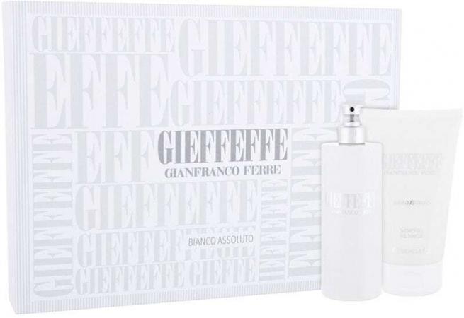 Gianfranco Ferré Gieffeffe Bianco Assoluto Eau de Toilette 100ml Combo: Edt 100 Ml + Shower Gel 100 Ml
