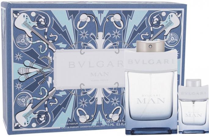 Bvlgari MAN Glacial Essence Eau de Parfum 100ml Combo: Edp 100 Ml + Edp 15 Ml