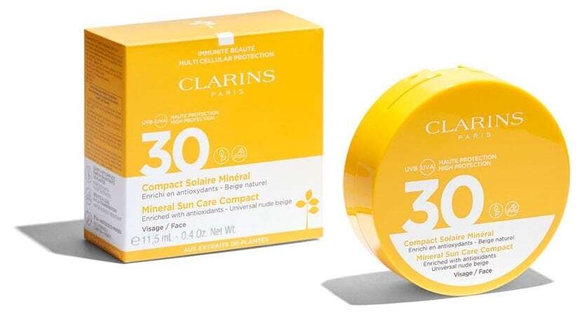 Clarins Sun Care Mineral Compact SPF30 Face Sun Care 11,5ml