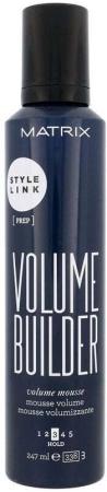 Matrix Style Link Volume Builder Hair Mousse 247ml (Medium Fixation)